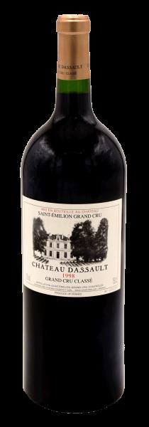 Château Dassault Saint Emilion Grand Cru Magnumflasche